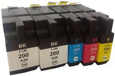 5x TINTE PATRONEN für LEXMARK 200XL 210XL für OfficeEdge PRO4000 PRO5500T