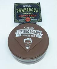Gatsby Pompadour Styling Pomade Supreme Hold Volume and High 75gm.