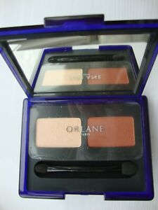 ORLANE DUO POWDER EYE SHADOW- shades: PAILLE  /SABLE BRUN 42