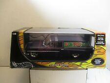 """1/18 SCALE HOT WHEELS RAT FINK ED """" BIG DADDY ROTH """" '59 CHEVY PANEL"""