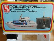MS Toy RC Police 275 Boat in Box
