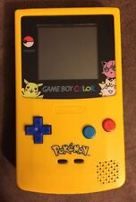Limited Edition Pokemon Yellow Game Boy Color Handheld System! ~ Mint Condition!