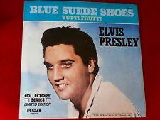 ELVIS PRESLEY~BLUE SUEDE SHOES~TUTTI FRUTTI~NEAR MINT~RCA~ POP 45