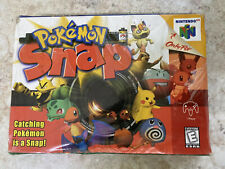 Pokemon Snap N64 (Nintendo 64, 1999) Brand New Factory Sealed Box *READ*