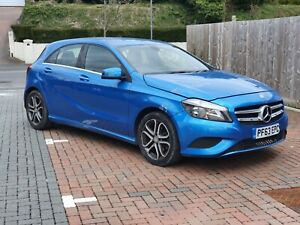 2013 (63) MERCEDES A CLASS 1.8 A200 CDI SPORT BLUE SALVAGE DAMAGED REPAIRABLE