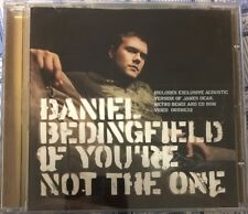 Daniel Bedingfield. If You're Not The One. 2002 4 Track CD Single (with video)