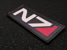 SNAKE PATCH N7 - mass effect ALLIANCE INTERSTELLAIRE game GEEK airsoft RPG