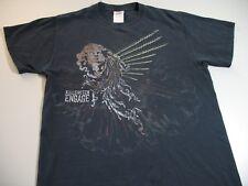Killswitch Engage 2009 Tour Men's T-Shirt  Size M (Small Hole)