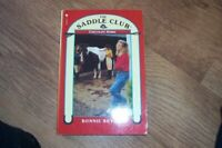 Chocolate Horse (Saddle Club) by Bryant, Bonnie Paperback Book The Fast Free