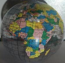 "6 GLOBE BEACH BALL 12"" Pool Party Earth World Map Teacher #AA32 Free Shipping"