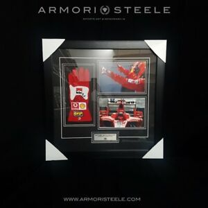 Michael Schumacher SIGNED Autographed F1 Glove Replica Fully Wood Framed