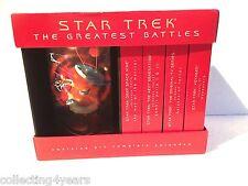 The Greatest Battle STAR TREK 3 vhs Videos and a plastic screen sheild 1997 RARE