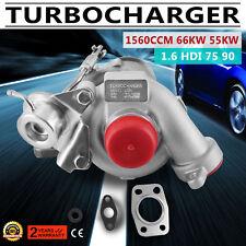 Turbocompresor turbo citroen berlingo c3 c4 xsara picasso jumpy 1.6 HDI 75ps 90p