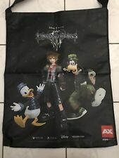 Anime Expo AX 18 2018 Kingdom Hearts III /Dragon Quest 2-Sided Large Bag RARE
