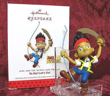 HALLMARK 2013 JAKE AND THE NEVER LAND PIRATES ORNAMENT~YO HO! LET'S GO!