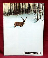 Browning 1976 Retailer's Catalog, New/Old Stock