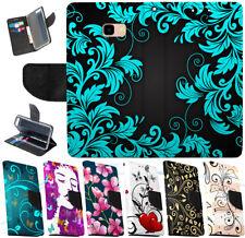 Für SONY Xperia E5 L1 L2 XA XA1 XZ Flip Cover Schutz Hülle Etui Wallet ORNAMENTE