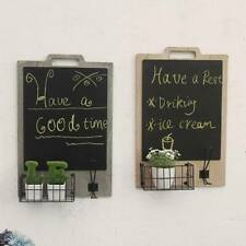 Blackboard Memo Sign Message Small Note Chalk Board with Stand Clip Wedding