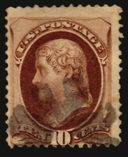 1871 National Bank US SCOTT 150 VF Banknotes stamp used fancy cancel