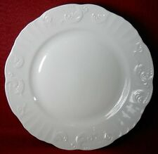 "VISTA ALEGRE Portugal MANUELINE WHITE Salad or Dessert Plate 8"""