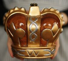 Timmy Woods ROYAL CROWN KING Bag QUEEN PRINCESS Signed Handbag RARE