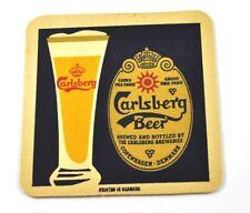 CARLSBERG bière Dessous-de-verre Dessous De Verre coaster USA