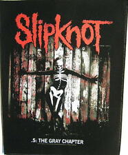 "Slipknot Dos Écusson/Backpatch # 4"" 5: the gray chapter"""