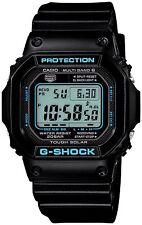 CASIO G-SHOCK BLACK X BLUE SERIES (GW-M5610BA-1JF) 6 MULTIBANDS SOLAR POWERED ME