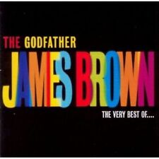JAMES BROWN - THE GODFATHER THE VERY BEST OF ... - CD NEW SEALED 2002