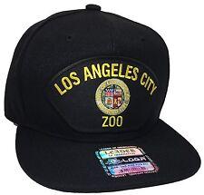 City Of Los Angeles ZOO Hat Color Black Snapback