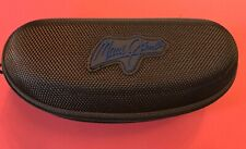 NEW Maui Jim Case Large Brown Sport Zippered, Box, Pouch,Sunglasses Cloth Bundle