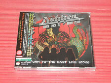 JAPAN CD + DVD  DOKKEN Return To The East Live 2016  with Bonus Track