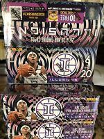 2019-20 Panini Illusions Basketball NBA 20 pack Sealed Box Zion? Ja?