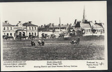 London Postcard - Old Ealing - Haven Green in 1877 -  DR38