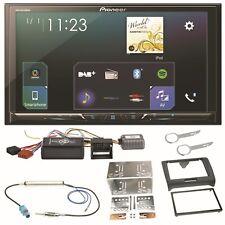 Pioneer SPH-DA230DAB Bluetooth Carplay Android Auto Einbauset für Audi TT 8J