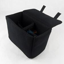 Black Lens Camera Pouch Protector DSLR SLR Cover Inner Case Bag for Nikon