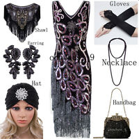 1920's Flapper Dresses Peacock Style Costumes Evening Gowns Party Prom Plus Size