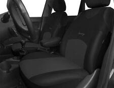 2 Nero Grigio Anteriore Car Seat Covers Protettori Per Mitsubishi Pajero