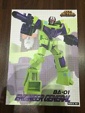 B&A Before & After Transformers Engineer General Constructicons Devastator MISB