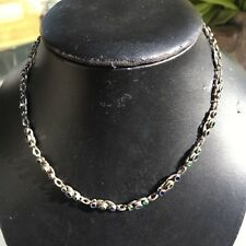 collier ancien austro hongrois Antique silver sterling Austro Hungarian chain