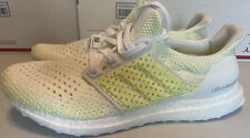 Adidas Ultraboost Clima - White Solar Yellow Ultra Boost Men's Size 10 AQ0481