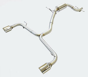 Racing Exhaust For 2012-17 Volkswagen Beetle 2.0L Turbo FWD AT/MT Trans. by OBX