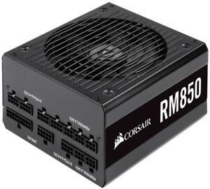 Corsair RM850 850W 80 PLUS Gold Fully Modular PSU Power Supply Wattage: 850W