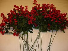 Christmas Picks12 Pcs bulk wholesale lot floral Crafts FLOWERS Babie's Breath 1