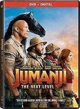 JUMANJI THE NEXT LEVEL DVD