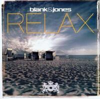 BLANK & JONES = Relax = CD = TRANCE DOWNTEMPO AMBIENT SOUNDS !