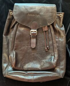 Kenneth Cole leather backpack
