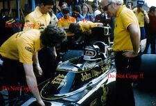 JACKY ICKX JPS Lotus 72e Gran Premio di Spagna 1975 fotografia 4
