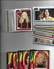 1977 CHARLIE'S ANGELS Topps Trading Cards SET of 66 4th Series with 11 stickers
