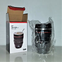 Camera Coffee Mug Cup Travel  Stainless Steel Thermos Gift